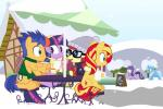 2015 dm29 equestria_girls equine female flash_sentry_(mlp) friendship_is_magic group horn male mammal moondancer_(mlp) my_little_pony pegasus sitting snow snowball starlight_glimmer_(mlp) steam sunset_shimmer_(eg) trixie_(mlp) twilight_sparkle_(mlp) unicorn wings  Rating: Safe Score: 5 User: 2DUK Date: December 27, 2015