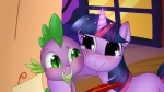 2013 dragon duo equine fangs feathers female feral friendship_is_magic fur glowing green_eyes happy horse hug loose_feather magic male mammal my_little_pony night paper pony purple_eyes purple_fur quill scalie slit_pupils sparkles spike_(mlp) tears twilight_sparkle_(mlp) vardastouch window  Rating: Safe Score: 6 User: 2DUK Date: March 10, 2013
