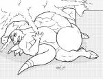 anthro black_and_white comic digimon dragon dragoneer drakemohkami growth inflation male masturbation monochrome nintendo orgasim penis_growth pokémon popping scalie video_games  Rating: Explicit Score: -3 User: Husqi Date: July 07, 2015