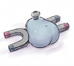 1_eye butt female kaceuth magnemite metal nintendo not_furry pokémon solo video_games whatRating: QuestionableScore: 2User: FurryPaladinDate: January 23, 2017