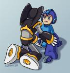 2014 android anthro balls bass blush capcom cuntboy headgear helmet intersex male mega_man_(character) mega_man_(series) open_mouth penis plus5pencil pussy sex sitting spread_legs spreading video_games   Rating: Explicit  Score: 3  User: forkU  Date: April 23, 2014