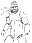 animatronic beard crossover facial_hair five_nights_at_freddy's konami looking_at_viewer machine male metal_gear monochrome parody robot solid_snake solo video_games  Rating: Safe Score: 5 User: Juni221 Date: November 21, 2014
