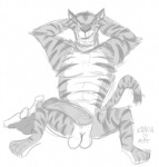 abs anthro balls clothing digital_drawing_(artwork) digital_media_(artwork) dreamworks erection feline full-length_portrait fur greyscale kangamutt madagascar male mammal monochrome muscular nude pecs penis portrait russian solo stripes tiger vitaly_the_tiger  Rating: Explicit Score: 2 User: slyroon Date: December 19, 2015