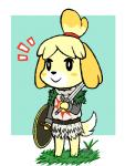 animal_crossing armor canine cosplay dark_souls female isabelle_(animal_crossing) mammal melee_weapon nintendo shield solaire_of_astora solo sword unknown_artist video_games weapon  Rating: Safe Score: 8 User: Nuji Date: February 02, 2016