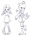 anime aogami avian beak bird biyomon claws clothing digimon duo eyewear feathers female glasses hazuki_fujiwara loli ojamajo_doremi skirt transformation young  Rating: Safe Score: 3 User: geoff34 Date: August 28, 2015