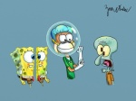anthro group mask sandy_cheeks spongebob_squarepants spongebob_squarepants_(character) squidward_tentacles surgeon  Rating: Safe Score: -6 User: masteraccount Date: July 15, 2015