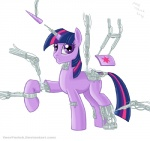 equine female feral friendship_is_magic horn machine mammal my_little_pony poor_yorick robot solo twilight_sparkle_(mlp) unicorn  Rating: Safe Score: 5 User: Princess_Celestia Date: June 12, 2011