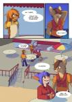 2015 anthro clothed clothing comic english_text female fish hyena lagomorph male mammal marine rabbit shark shortwings text   Rating: Safe  Score: 6  User: Sneaky  Date: May 03, 2015