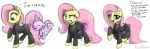 augustbebel clothing dragon dress equine female fluttershy_(mlp) friendship_is_magic leather male mammal my_little_pony pegasus scalie spike_(mlp) text unbirthing vore wings  Rating: Explicit Score: 7 User: Queen_Tyr'ahnee Date: February 24, 2015