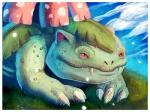 ambiguous_gender feral flora_fauna flower ius-iuris nintendo plant pokémon red_eyes reptile scalie smile solo venusaur video_games   Rating: Safe  Score: 0  User: Sods  Date: March 15, 2014