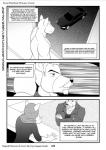 2014 anthro anupap arabian bear beard black_and_white black_hair black_nose bruno_rheinbear canine car clothing coat comic dog english_text facial_hair feline fur hair male mammal monochrome muscular nude shirt text vehicle  Rating: Questionable Score: 0 User: xxroland Date: February 10, 2016
