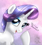 2013 blue_eyes equine eyeshadow female feral friendship_is_magic fur hair horn joakaha makeup mammal my_little_pony purple_hair rarity_(mlp) solo unicorn white_fur  Rating: Safe Score: 4 User: anthroking Date: April 19, 2013