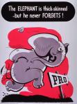 bode elephant english_text government_printing_office hat hi_res male mammal poster propaganda solo text  Rating: Safe Score: -1 User: Lance_Armstrong Date: May 20, 2015