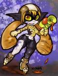 clothing female imp inkling looking_at_viewer midna nintendo orange_eyes shorts solo splatoon the_legend_of_zelda twilight_princess video_games xdraws  Rating: Safe Score: 3 User: Nuji Date: November 15, 2015