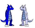 ambiguous_gender animated belly belly_expansion dragon duo eyewear glasses head_first head_in_mouth hovering inflation low_res rogerrog same_size_vore scalie standing struggling swallowing vore what   Rating: Safe  Score: -3  User: Frostking23  Date: October 06, 2011