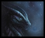 2010 amazing ambiguous_gender blue_eyes breath cool_colors dark_theme dragon feral horn looking_at_viewer outside portrait realistic scalie simple_background sky snow snowing solo superboll   Rating: Safe  Score: 73  User: Eclipse933  Date: April 15, 2012