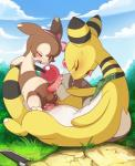 absurd_res ampharos anal anal_penetration animal_genitalia balls bandanna big_dom_small_sub blush bow breath cowgirl_position cum cum_from_ass cum_in_ass cum_inside cum_on_face cum_string cumshot duo ejaculation erection eyes_closed furret genital_slit girly hands-free hi_res knife landscape long_neck looking_pleasured male male/male mammal nintendo on_top on_top_of one_eye_closed orgasm orgasm_face panting penetration penis pokémon pokémon_(species) reclining scalie semi-anthro sex sheath size_difference slit tricksta video_gamesRating: ExplicitScore: 47User: Dagoth_UrDate: March 30, 2018