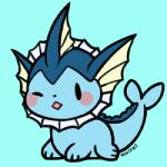 ambiguous_gender cub cute eeveelution huiro nintendo one_eye_closed pokémon solo vaporeon video_games wink young  Rating: Safe Score: 10 User: JGG3 Date: June 26, 2015