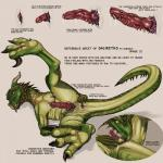 anal anal_masturbation animal_genitalia anus autorimming butt claws cum cum_inside dragon english_text erection feral gaping gaping_anus genital_slit horn licking looking_at_viewer lying male masturbation model_sheet nude open_mouth oral penis reptile rimming salireths saliva scales scalie sex simple_background slimy slit smile solo spread_legs spreading text tongue tongue_out  Rating: Explicit Score: 25 User: zergrush Date: October 27, 2015
