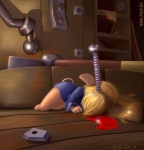 2006 anthro blonde_hair blood chip_'n_dale_rescue_rangers death detailed detailed_background disney edit female gadget_hackwrench hair humor mammal mouse parody pwned rodent ruslan_m screw signature soloRating: QuestionableScore: -8User: AnomynousDate: December 05, 2007