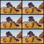 animal_genitalia balls cub disney duo feline female feral fur hi_res hyena jasiri_(tlg) kaion kion lion male male/female mammal pussy the_lion_guard the_lion_king youngRating: ExplicitScore: 0User: KaionDate: September 25, 2017