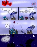 2014 anthro comic crescent dialog dragon english_text eyes_closed lucario lucia_(snowfyre) moon night nintendo number open_mouth playing pokémon snowfyre spikes star stars text video_games yellow_eyes   Rating: Safe  Score: 4  User: Finchmaster  Date: February 11, 2014