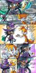 2014 anthro candy canine cute dialogue drawloverlala english_text feline female fox halloween holidays lynx male mammal miles_prower nicole_the_lynx sega sonic_(series) text   Rating: Safe  Score: 10  User: Robinebra  Date: October 22, 2014