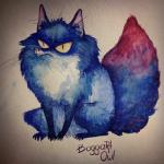 blue_fur boggartowl canine fox fur glimtod mammal real sitting solo traditional_media_(artwork) watercolor_(artwork)  Rating: Safe Score: 4 User: KilLDarK Date: February 10, 2016
