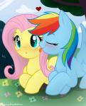 blue_fur blush equine female fluttershy_(mlp) friendship_is_magic fur hair hikariviny lesbian licking mammal multi-colored_hair my_little_pony pegasus rainbow_dash_(mlp) rainbow_hair tongue wings   Rating: Safe  Score: 13  User: Lunaz  Date: April 11, 2014