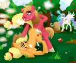2013 <3 all_fours ambiguous_penetration apple applejack_(mlp) being_watched bent_over big_macintosh_(mlp) blonde_hair brother brother_and_sister cloud cowboy_hat cum cum_inside cutie_mark doggystyle drugs earth_pony english_text equine female feral food forced forced_incest freckles friendship_is_magic from_behind_position fruit green_eyes group hair half-closed_eyes hat hi_res horn horse incest male male/female mammal modernstormtrooper multicolored_hair my_little_pony orange_body outside penetration pony princess princess_celestia_(mlp) purple_eyes rape red_body royalty sex sibling sister text tongue tree white_body winged_unicorn wings yoke  Rating: Explicit Score: 7 User: Falord Date: March 07, 2013