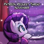 equine female friendship_is_magic horse lumineko mammal my_little_pony patreon pony rarity_(mlp) snow solo winter  Rating: Safe Score: 2 User: lumineko Date: November 10, 2015