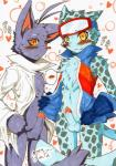 balls blush cat feline leopard male male/male mammal morenatsu ollie penis shin_kuroi snow_leopard snowmew   Rating: Explicit  Score: 0  User: Lionxie  Date: May 28, 2015