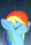 2012 animated blue_fur dripping equine eyes_closed female friendship_is_magic fur hair horse mammal multicolored_hair my_little_pony pegasus pony rainbow_dash_(mlp) rainbow_hair raining simple_background smile solo twodeepony wet wings  Rating: Safe Score: 34 User: Rainbow_Dash Date: June 17, 2012