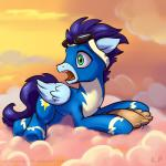 2015 bodysuit clothed clothing cloud equine eyewear feathered_wings feathers feral flying friendship_is_magic goggles karol_pawlinski male mammal my_little_pony pegasus signature skinsuit soarin_(mlp) solo teeth wings wonderbolts_(mlp)  Rating: Safe Score: 11 User: Robinebra Date: July 05, 2015