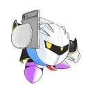 """erection kirby_(series) meta_knight nintendo not_furry penis phone solo video_games  Rating: Explicit Score: 0 User: Agamemdong Date: July 06, 2015"""""""
