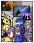anthro bandai blush breasts canine digimon fox fox_mccloud grimmhelm group jenny krystal male mammal nintendo renamon star_fox video_games   Rating: Questionable  Score: 6  User: malekrystal  Date: February 06, 2015