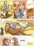 anthro comic feline gay kissing male mammal meesh mustelid my_favorite_adventure otter undressing   Rating: Questionable  Score: 5  User: rix_traier  Date: April 20, 2014