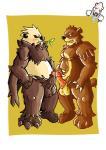 anthro balls bear beartic big_penis blush chubby duo erection grizzly_bear leaf lowemond male male/male mammal nintendo nude panda pangoro penis pokémon polar_bear sex ursaring video_games  Rating: Explicit Score: 10 User: ruina Date: November 27, 2013