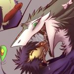 ambiguous_gender anthro avian beak bird black_lips bow cutaway drooling duo erection fluffy gaping_mouth glans gooey green_eyes gustav hi_res hug imminent_vore in_mouth kanevex kzaqul licking male mammal mouth_shot nevrean open_mouth peep penis penis_close-up saliva sergal slimy tongue tongue_out urethra vore wet  Rating: Explicit Score: 12 User: reshiram_ Date: May 23, 2014
