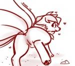 blush butt canine female fox fur mammal ninetales nintendo persephone_(artist) pokémon presenting pussy solo video_games  Rating: Explicit Score: 9 User: Persephone Date: April 06, 2015