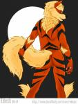 2014 anthro arcanine back balls butt canine edesk fur goldenfur looking_at_viewer male mammal nintendo nude paws pokémon pokémorph pose solo video_games   Rating: Questionable  Score: 6  User: eddythefur  Date: June 28, 2014