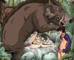 2013 <3 ashitaka being_watched bestiality big_breasts big_dom_small_sub black_hair boar breasts cum cum_in_pussy cum_inside erection female female_on_feral feral ghibli group hair hi_res human human_on_feral humanoid_penis interspecies larger_male madoc male male/female mammal masturbation nipples nude penetration penile_masturbation penis porcine princess_mononoke pubes san sex size_difference smaller_female smaller_male spread_legs spreading tongue tongue_out vaginal vaginal_penetration voyeur  Rating: Explicit Score: 24 User: Pasiphaë Date: July 15, 2015