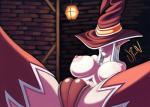 big_breasts big_nipples breasts camel_toe clothing elf female hat humanoid legwear nipples not_furry pinup pointy_ears pose solo thigh_highs tight_clothing underwear urw wizard_hat  Rating: Explicit Score: 5 User: iHunger Date: October 27, 2015