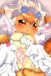 <3 blush breasts bride canine clothed clothing comic cum cum_in_pussy cum_inside dress erect_nipples female flower fox fur gaping gaping_pussy hi_res jewelry mammal multi_breast necklace nintendo nipples open_mouth orange_sclera plant pokémon pussy red_eyes red_fur solo spread_legs spreading topless uro_99 video_games vulpix wedding_dress うろ  Rating: Explicit Score: 27 User: furfaggot Date: November 09, 2014
