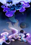 crown cutie_mark equine female feral friendship_is_magic gashiboka hair horn horse long_hair mammal moon my_little_pony pony princess_celestia_(mlp) princess_luna_(mlp) winged_unicorn wings   Rating: Safe  Score: 11  User: KrzykaczNerwus  Date: September 21, 2013