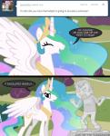 comic crossover crown cutie_mark dan dan_vs duo english_text equine eyes_closed female feral friendship_is_magic fur hair horn human male mammal mixermike622 multicolored_hair my_little_pony princess_celestia_(mlp) purple_eyes sculpture statue text tiara tumblr white_fur winged_unicorn wings   Rating: Safe  Score: 6  User: anthroking  Date: February 14, 2014