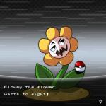 animated flora_fauna flowey_the_flower goobermation low_res male nintendo plant pokéball pokémon solo undertale video_games  Rating: Safe Score: 5 User: Marowaque Date: February 07, 2016