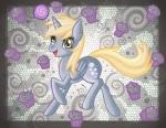 2012 blonde_hair butt cutie_mark derp_eyes derpy_hooves_(mlp) digital_media_(artwork) equine female feral food friendship_is_magic fur grey_feathers grey_fur hair hi_res horn magic mammal muffin my_little_pony nude open_mouth raised_leg raptor007 smile solo winged_unicorn wings yellow_eyes yellow_fur   Rating: Safe  Score: 1  User: GameManiac  Date: March 23, 2015