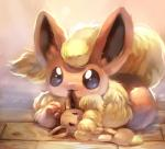 ambiguous_gender b_spa_gyoreva_(artist) black_eyes canine cute doll eevee eeveelution flareon fur mammal nintendo orange_fur plushie pokémon solo tuft video_games yellow_fur   Rating: Safe  Score: 6  User: DeltaFlame  Date: February 08, 2015