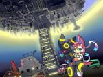 :3 ambiguous_gender blue_eyes blush bus car chimney city collar eeveelution nintendo open_mouth pokémon pvt._keron red_eyes smile sylveon tower umbreon upside_down video_games   Rating: Safe  Score: 1  User: CoffeeFly  Date: March 03, 2014